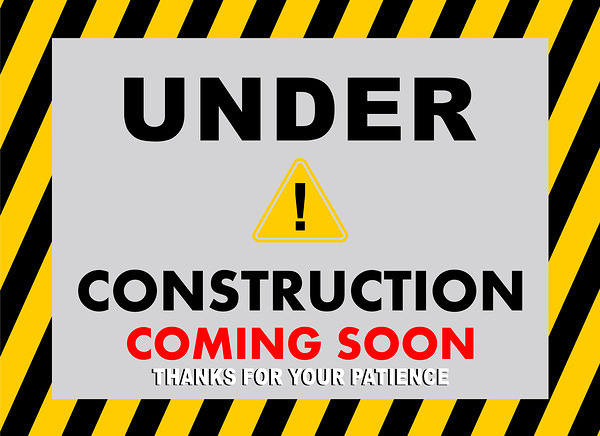 Under Construction Coming Soon Background